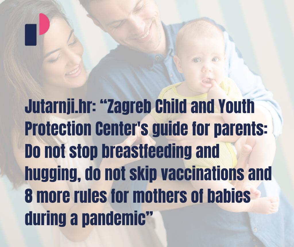 "Jutarnji.hr: ""Zagreb Child And Youth Protection Center's"