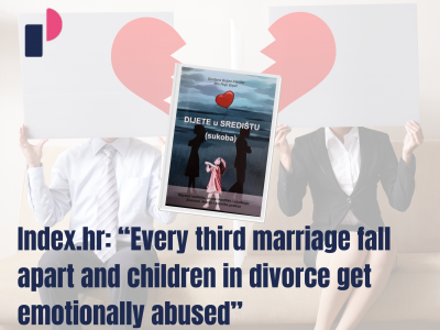 "Index.hr: ""Every third marriage fall apart and children in divorce get emotionally abused"""