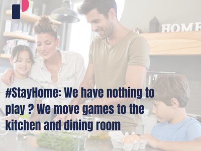 #StayHome: We have nothing to play ? We move games to the kitchen and dining room