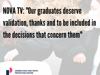 """NOVA TV: """"Our graduates deserve validation, thanks and to be included in the decisions that concern them"""""""