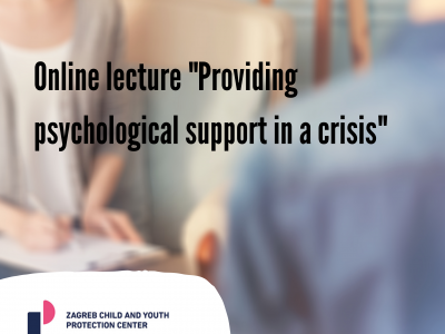 """Online lecture """"Providing psychological support in a crisis"""""""