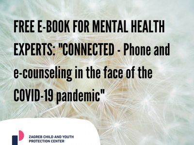 "FREE E-BOOK FOR MENTAL HEALTH EXPERTS: ""CONNECTED – Phone and e-counseling in the face of the COVID-19 pandemic"""