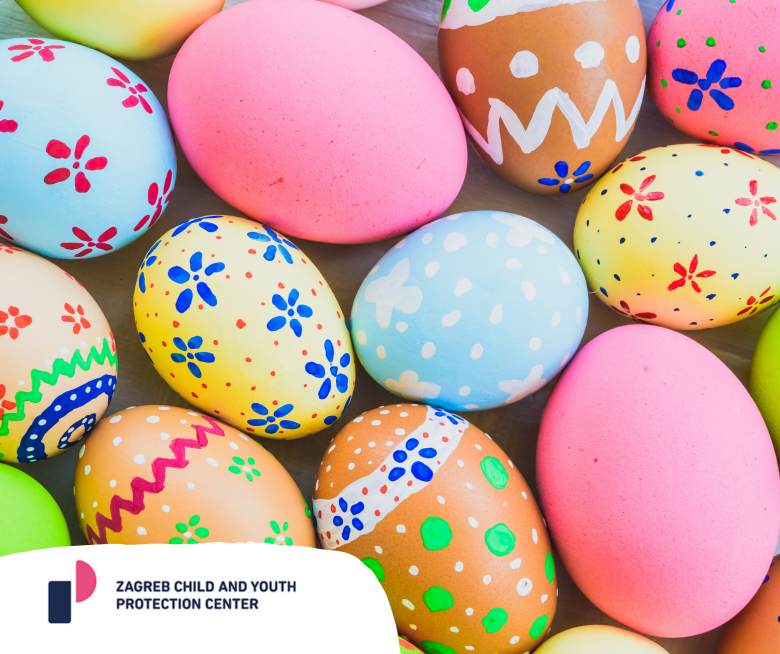 Zagreb Child and Youth Protection Center wishes everyone a Happy Easter! #StayHome
