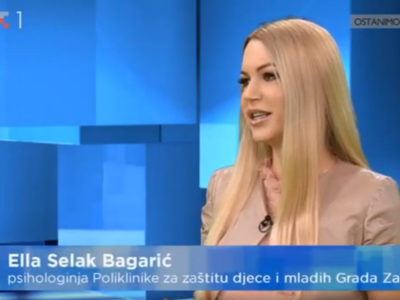"Croatian Radiotelevision: ""If we don't take care of how the children are now, we will have much bigger difficulties and problems with them than their school success"""
