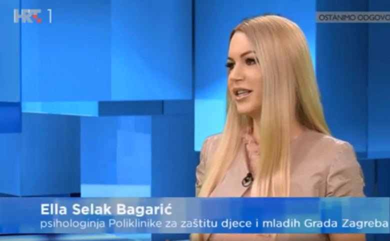 """Croatian Radiotelevision: """"If we don't take care of how the children are now, we will have much bigger difficulties and problems with them than their school success"""""""