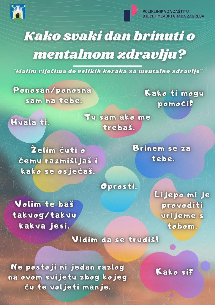 svjetski dan mentalnog zdravlja, infografika, savjeti za roditelje