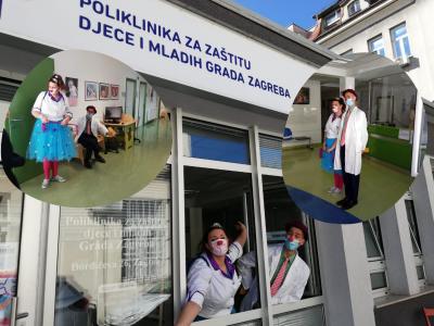Suradnja s Crvenim nosovima: Klaunovidoktori će svaki mjesec dolaziti u Polikliniku