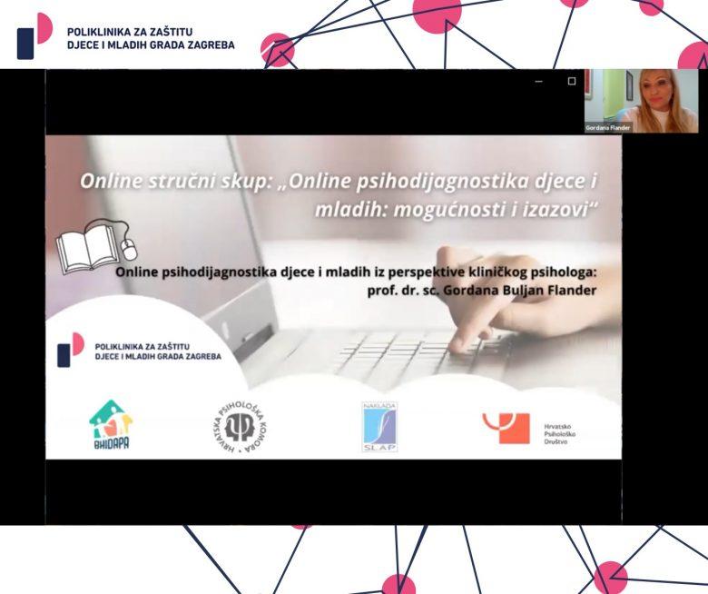 """Više od 800 stručnjaka sudjelovalo na online stručnom skupu Poliklinike """"Online psihodijagnostika djece i mladih: Mogućnosti i izazovi"""""""