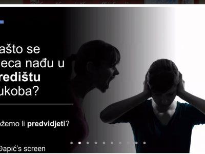 """Webinar """"Odrastanje djece uz roditeljski konflikt"""" u organizaciji Savjetovališta Đakovačko-osječke nadbiskupije"""
