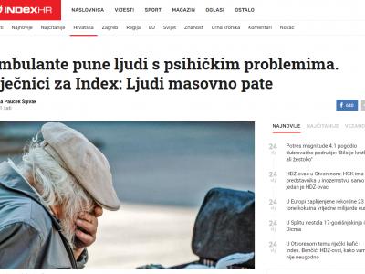 """Index: """"Roditelji zagrebačkih učenika ispunjavaju online upitnike o djetetovim emocijama i ponašanju u proteklom periodu"""""""