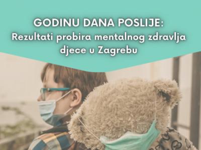 """""""GODINU DANA POSLIJE: Rezultati probira mentalnog zdravlja djece u Zagrebu"""" (KRATKI IZVJEŠTAJ)"""