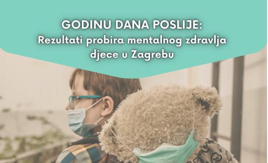 GODINU DANA POSLIJE: Rezultati probira mentalnog zdravlja djece u Zagrebu