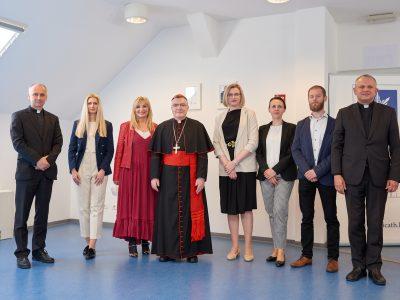 Na svečanom otvorenju Centra za promicanje dobrobiti ranjivih osoba Hrvatskog katoličkog sveučilišta