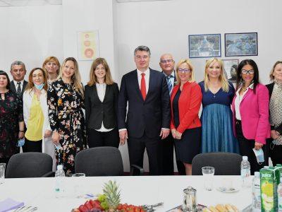 Posjet predsjednika Zorana Milanovića Poliklinici kao podrška zaštiti mentalnog zdravlja djece i mladih
