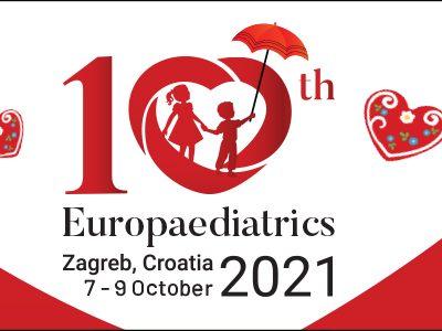 NAJAVA: 10. kongres Eruopaediatrics održava se od 7. do 9. listopada 2021. u Zagrebu (online i offline)