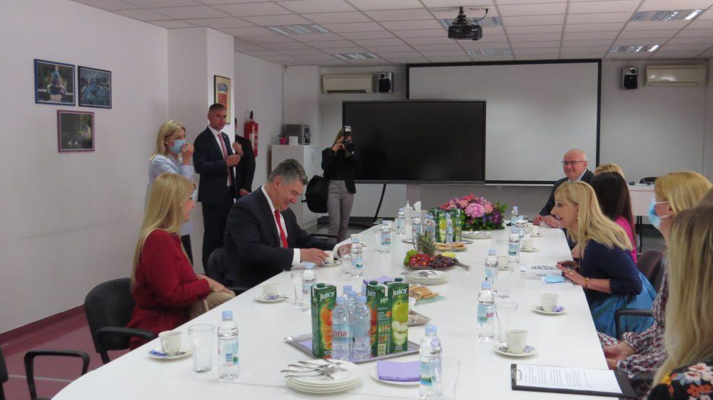 posjet predsjednika Milanovića Poliklinici