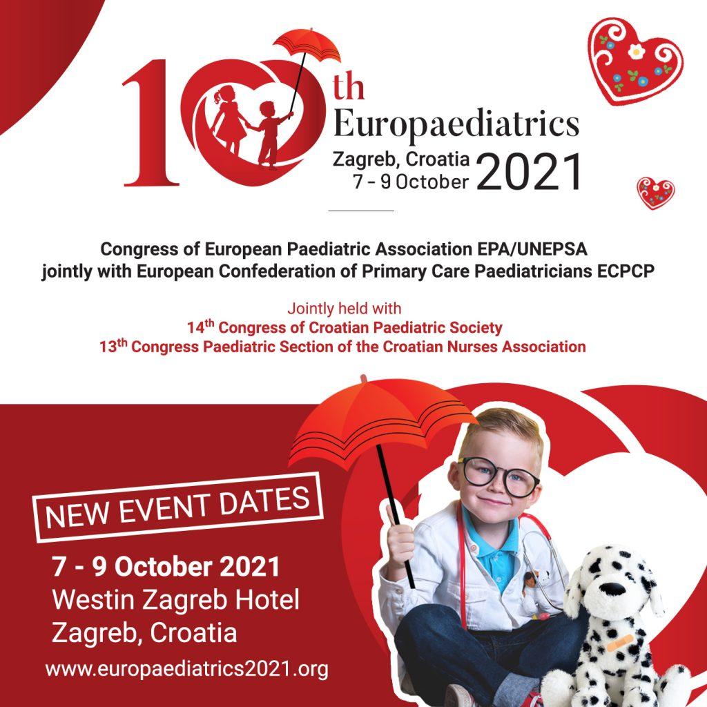 logo 10. kongres Europaediatrics