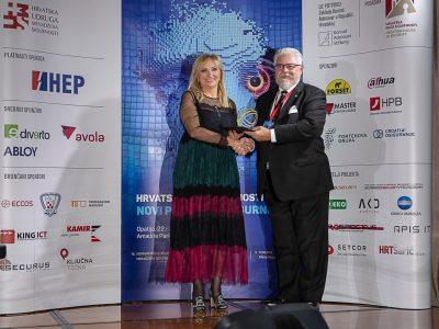 Ravnateljici dodijeljena Velika hrvatska nagrada sigurnosti u kategoriji individualnog doprinosa u ostvarivanju i razvoju sigurnosti zajednice