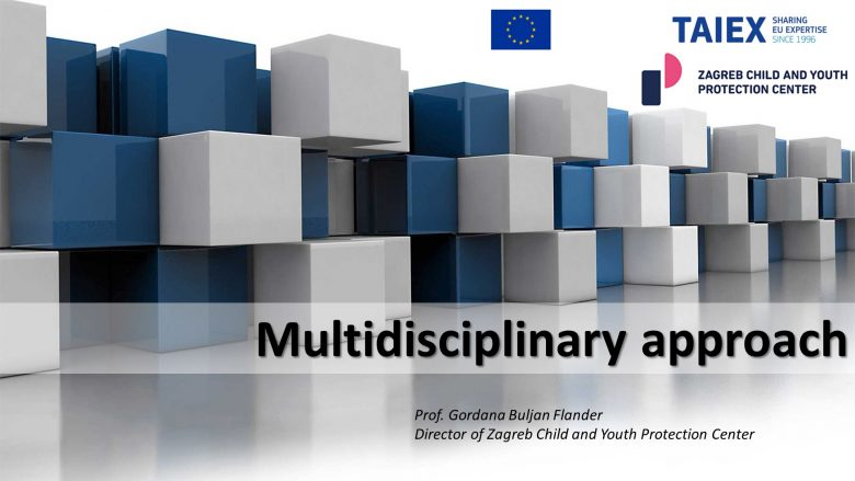 Presenting Center's Multidisciplinary Model of Work and Forensic Interview on TAIEX Webinar for Mauritius Experts